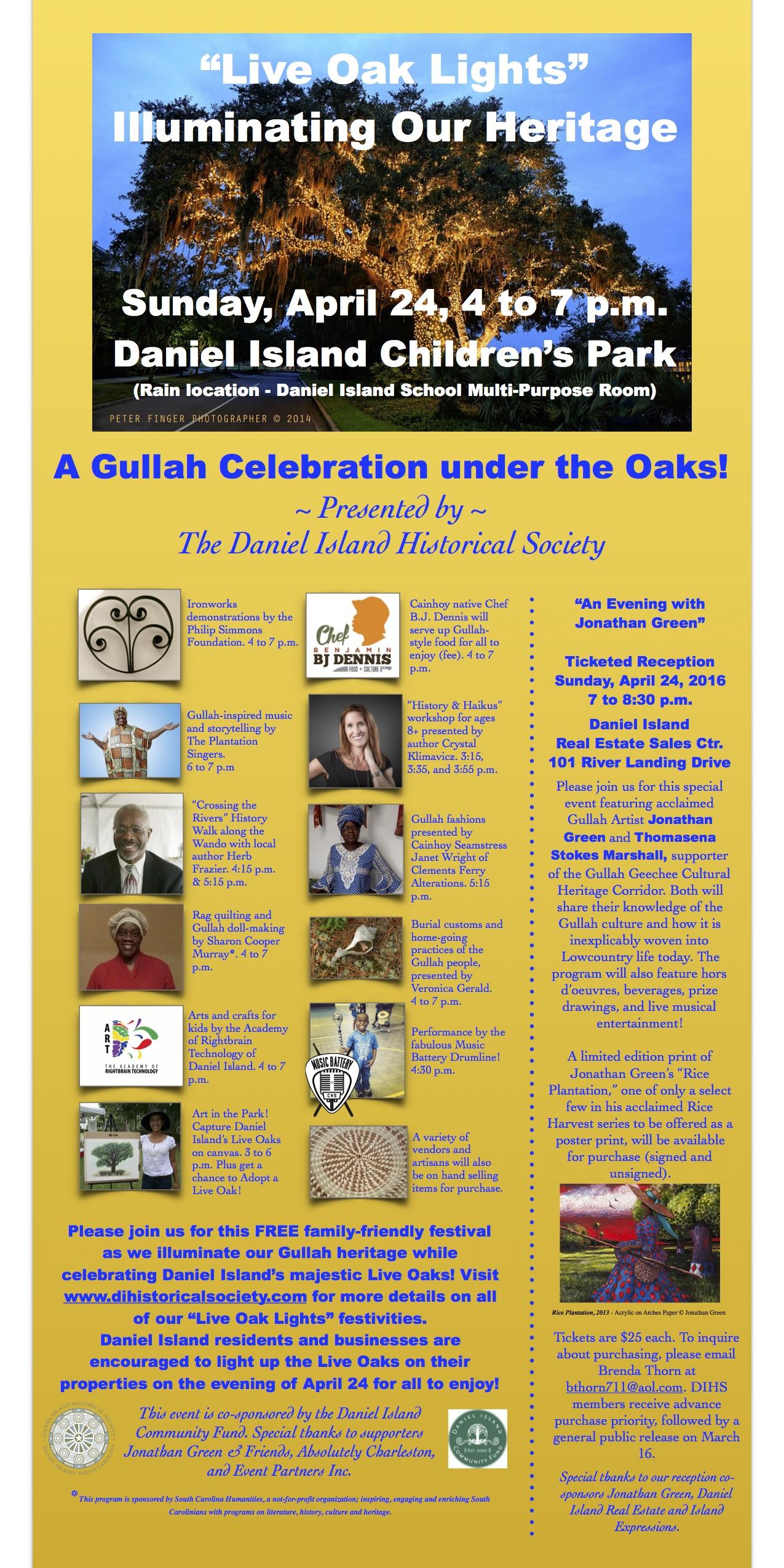 Live Oak Lights: Illuminating Our Heritage – A Gullah
